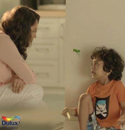 Dulux Super Clean TV Ad - Hungry Walls