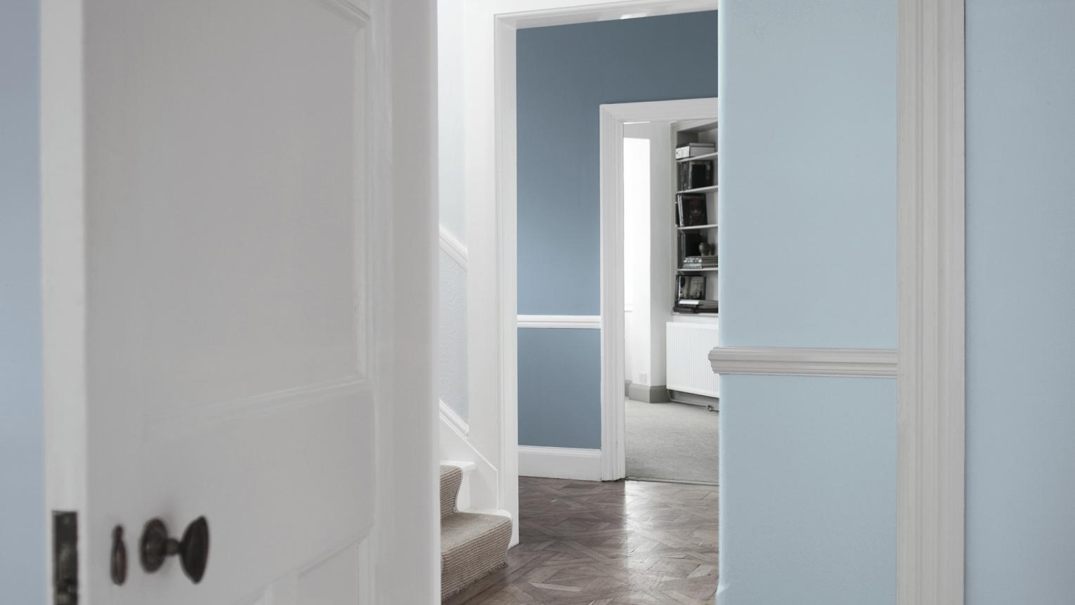 Add a touch of class with pale blue