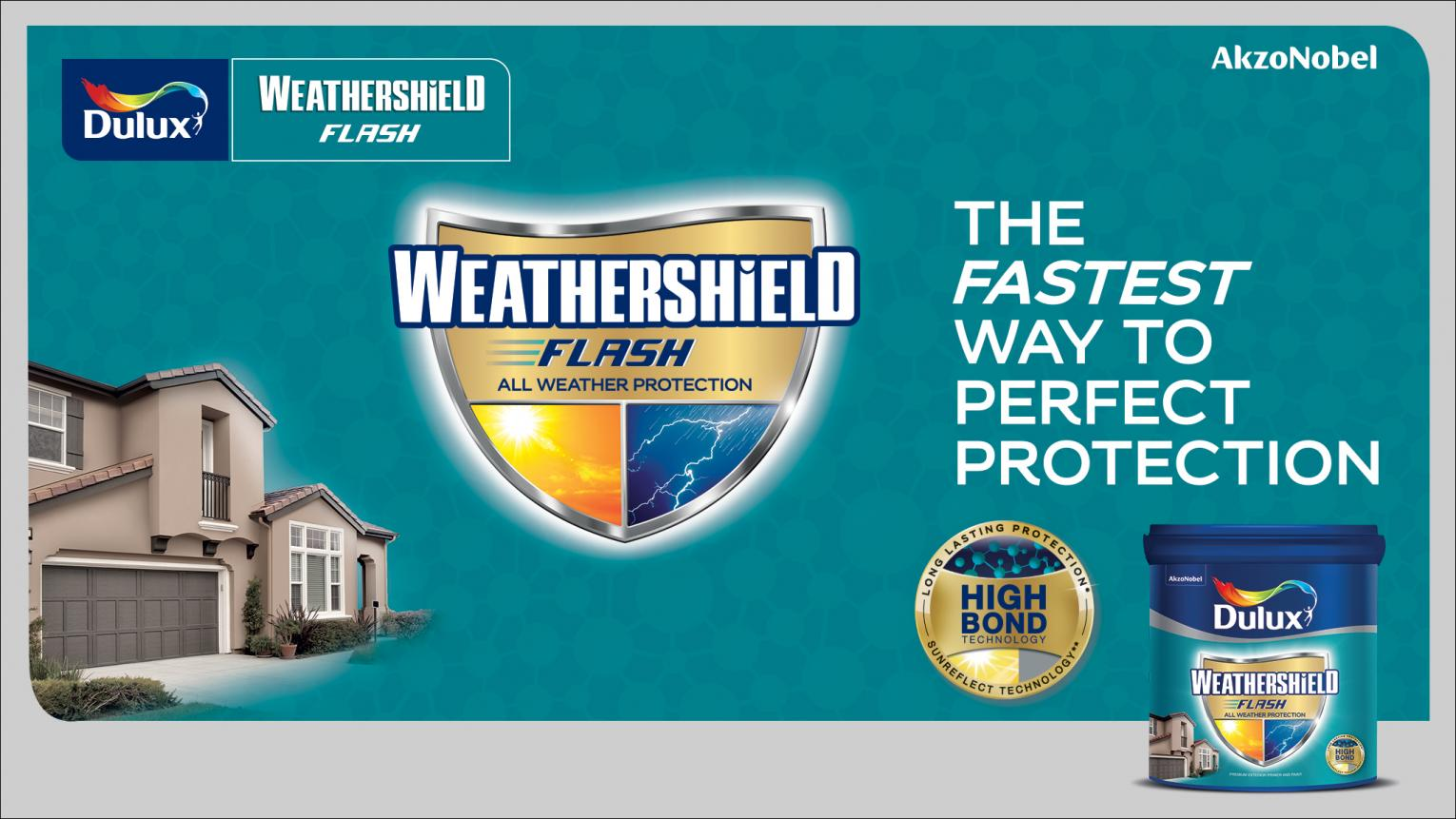 Weathershield Flash - The fastest way to perfect protection