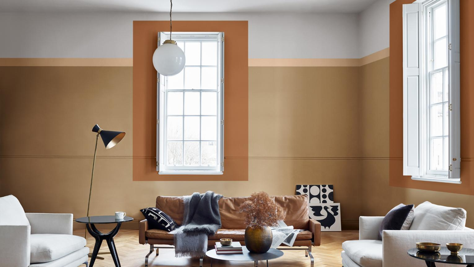 Accent Wall Colors to Welcome the Summer