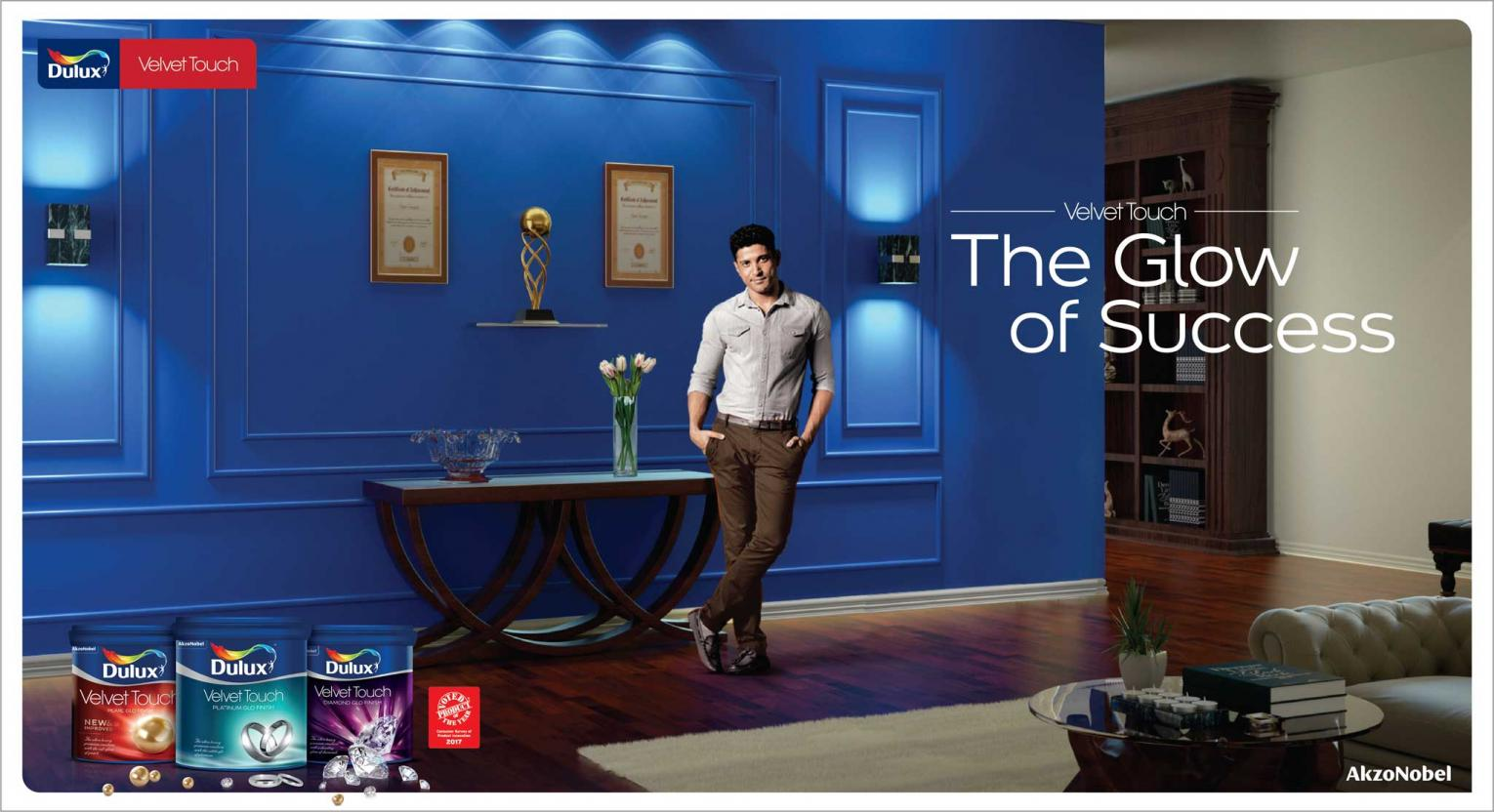 Dulux Velvet Touch – The Glow of Success