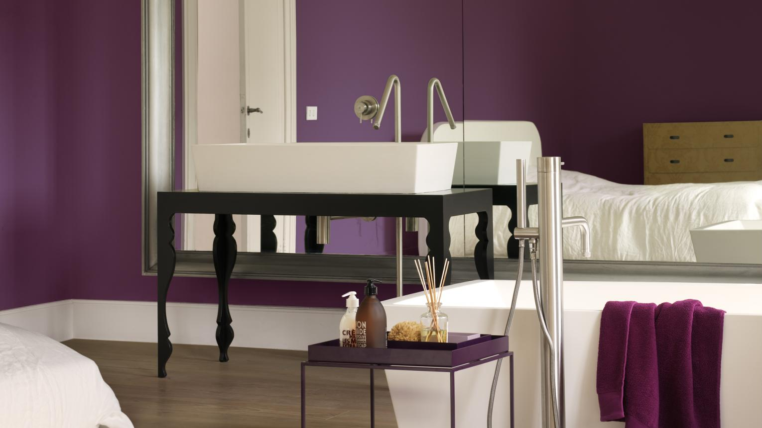 Get the grand look with a royal purple