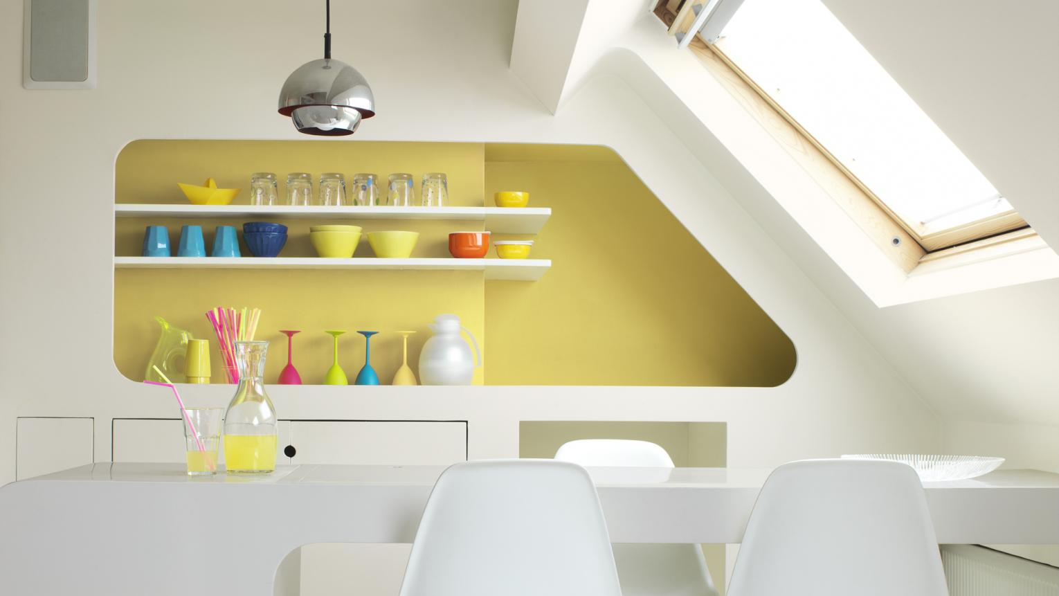 Make a statement with citrus yellow