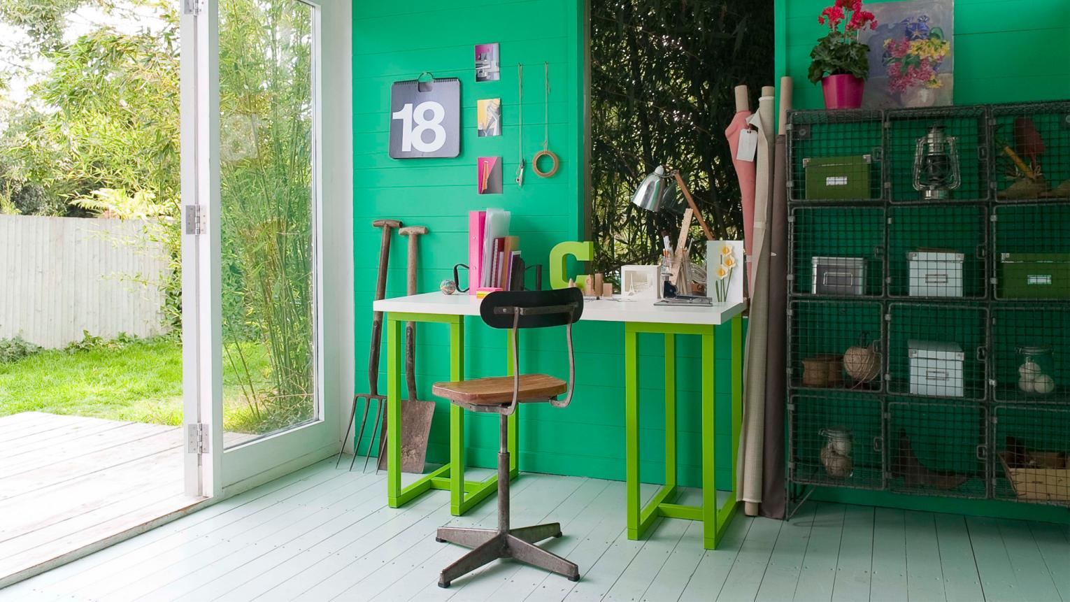 Make a statement with vivid emerald green